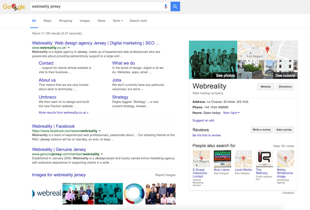 Google My Business - A free must-have for local businesses!   Webreality